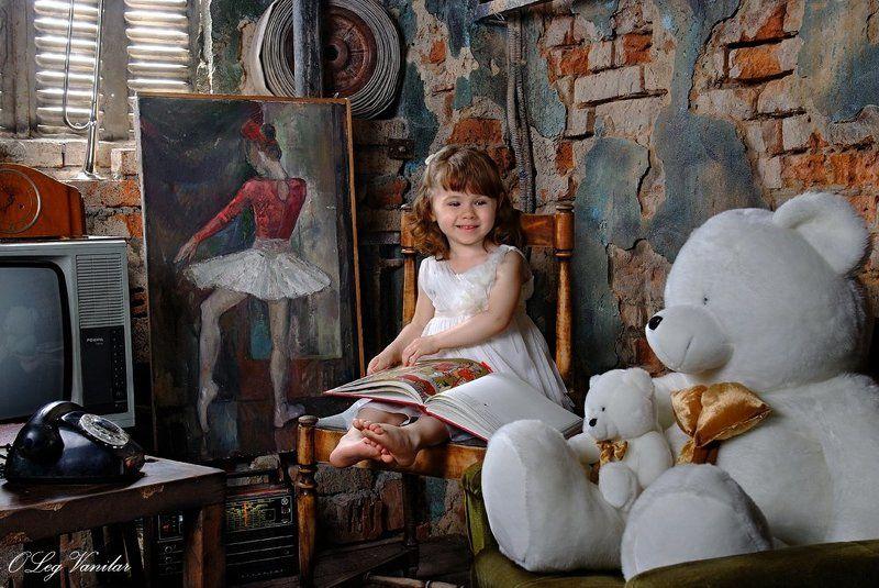 дети, портрет сказка для любимого Мишкиphoto preview