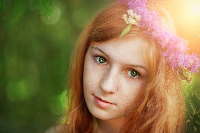 Солнечный портретphoto preview