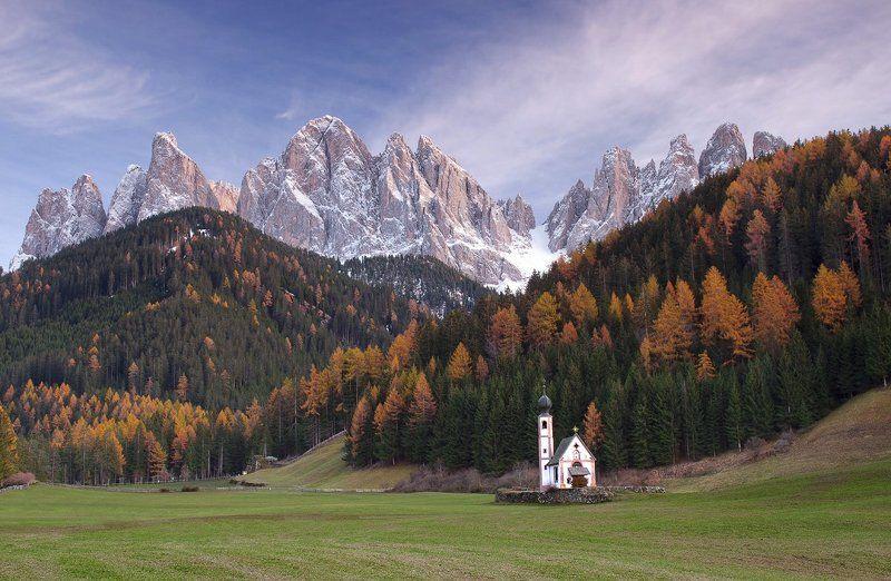 italy, dolomite, италия, доломиты, альпы Santa Maddalenaphoto preview