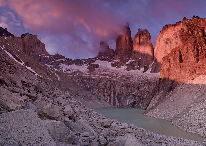 chile, torres del paine, чили, торрес дель пайн Towers of Painephoto preview