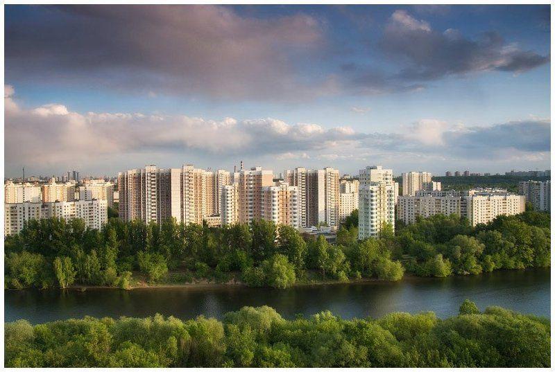 москва, река, май, город Мой городphoto preview
