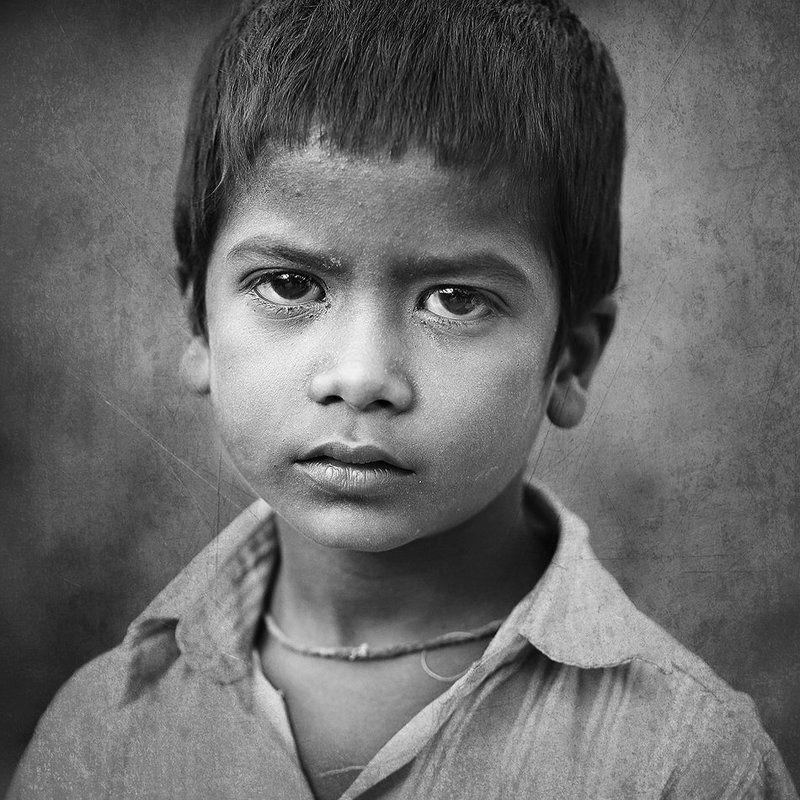 portrait, people, kid, india, mahesh Melancholyphoto preview