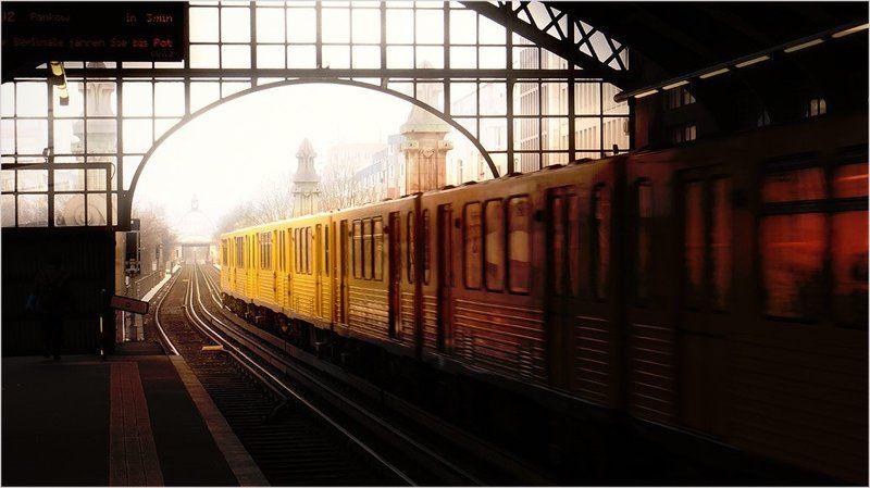 foto liubos, поезд, берлин .. из точки А....photo preview